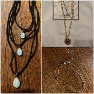 4pc Necklace Set
